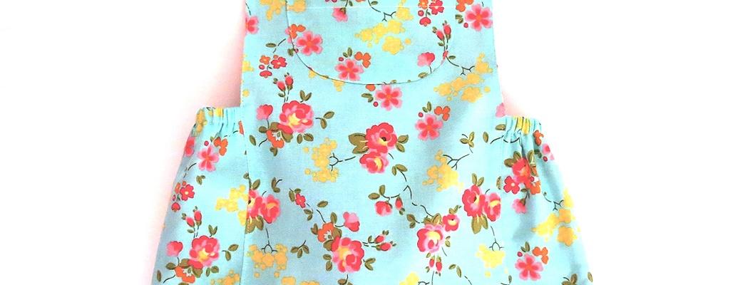 Honeycrisp baby romper sewing pattern